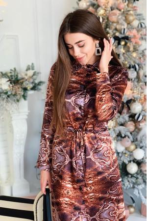 Сукня-сорочка «Енія» анімалістичний принт