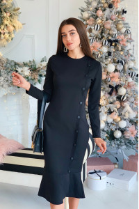 Сукня «Ріта» чорного кольору