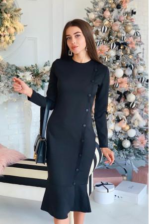 Платье «Рита» черного цвета