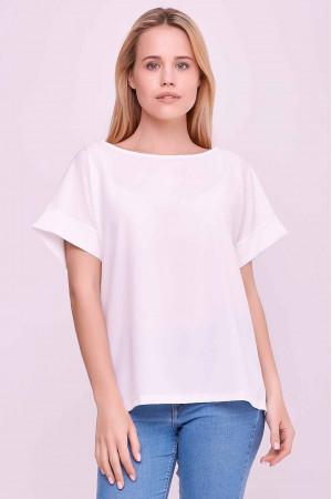 Блуза «Олівія» білого кольору
