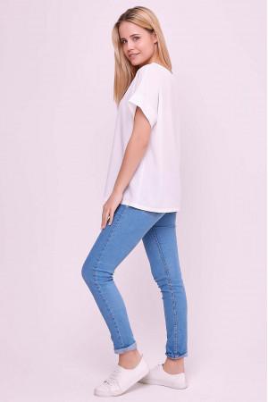 Блуза «Оливия» белого цвета