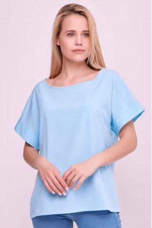 Блуза «Олівія» блакитного кольору