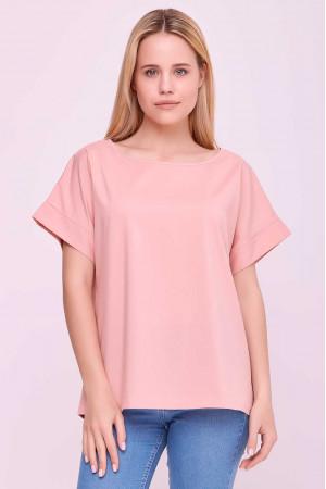Блуза «Олівія» кольору пудри