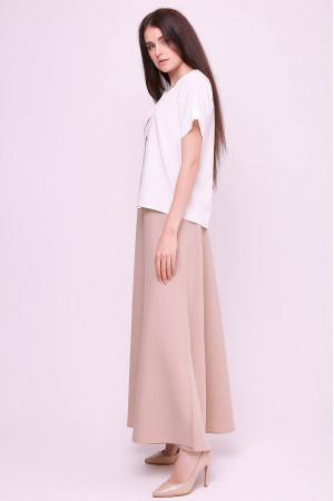 Блуза «Ріна» білого кольору