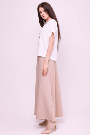 Блуза «Рина» белого цвета