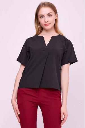 Блуза «Ріна» чорного кольору