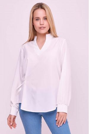Блуза «Алвена» білого кольору