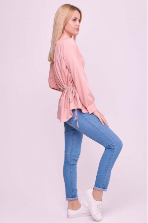 Блуза «Алвена» кольору пудри