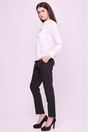 Блуза «Лексия» белого цвета