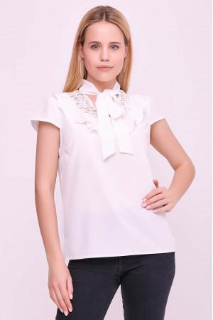 Блуза «Гледіс» білого кольору