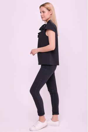 Блуза «Гледіс» чорного кольору