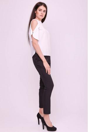 Блуза «Антонія» білого кольору