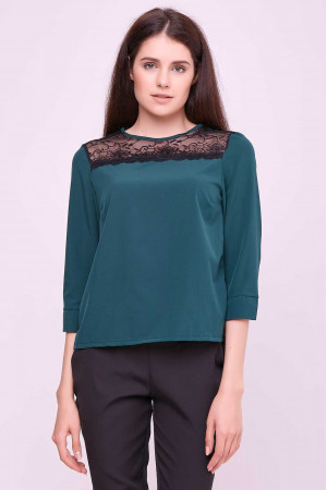 Блуза «Вінтер» зеленого кольору