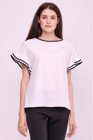 Блуза «Гармонія» білого кольору