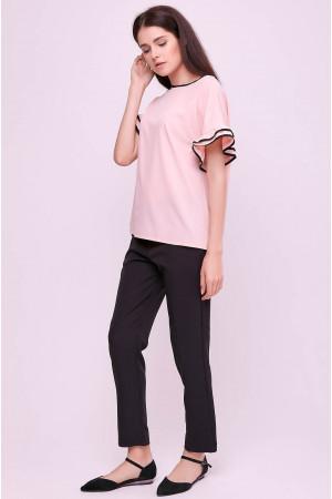 Блуза «Гармонія» кольору пудри