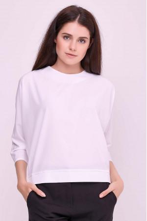 Блуза «Глория» белого цвета
