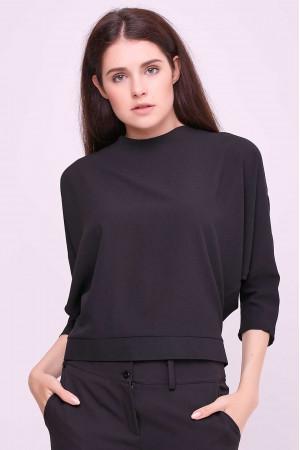 Блуза «Глория» черного цвета