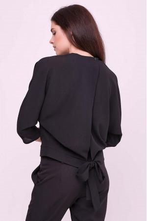 Блуза «Глорія» чорного кольору