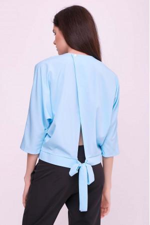 Блуза «Глорія» блакитного кольору