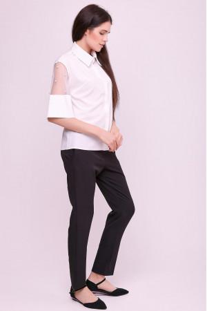 Блуза «Дамія» білого кольору