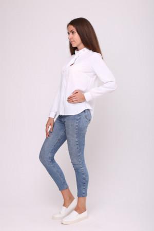 Блуза «Монта» білого кольору