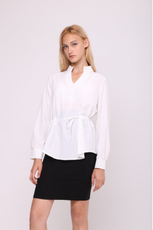 Блуза «Мэйси» белого цвета