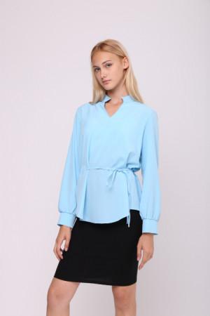 Блуза «Мэйси» голубого цвета