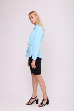 Блуза «Мейсі» блакитного кольору