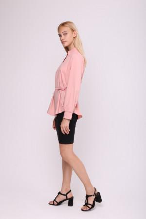 Блуза «Мейсі» кольору пудри
