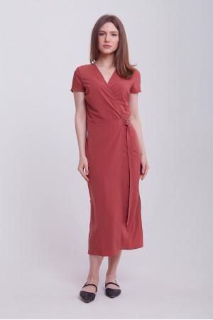 Сукня «Бенедикта» теракотового кольору