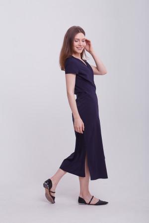 Платье «Бенедикта» синего цвета