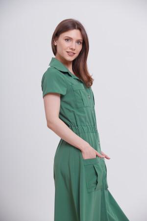 Платье «Гэйл» зеленого цвета