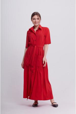 Сукня «Джасті» червоного кольору