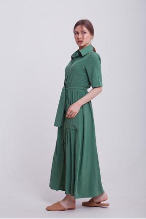 Платье «Джасти» зеленого цвета