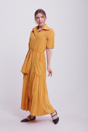 Сукня «Джасті» гірчичного кольору