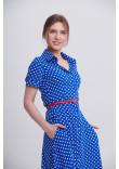 Сукня «Ольга» кольору електрик