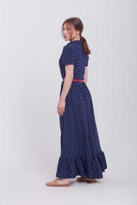 Платье «Розалина» синего цвета