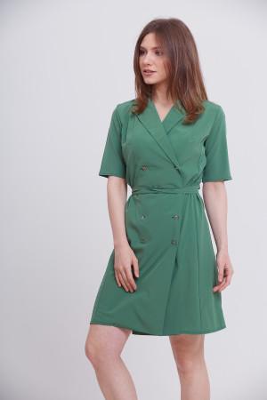 Платье «Карли» зеленого цвета