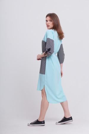 Платье «Эрсела» голубого цвета