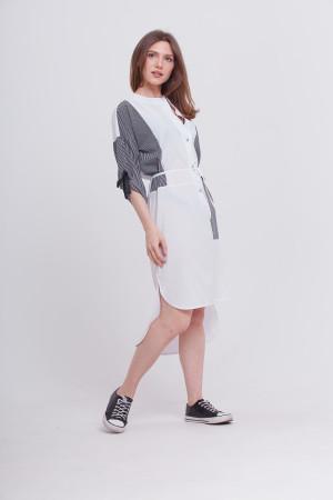 Платье «Эрсела» белого цвета