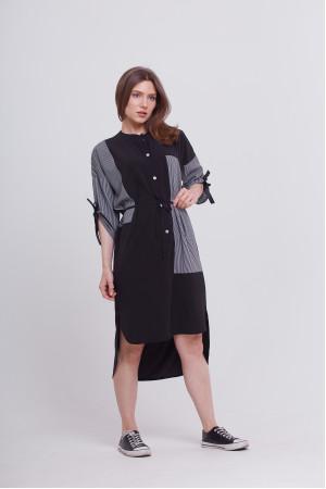 Сукня «Ерсела» чорного кольору
