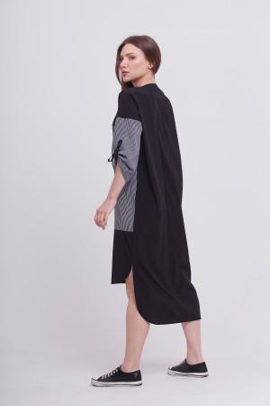 Платье «Эрсела» черного цвета