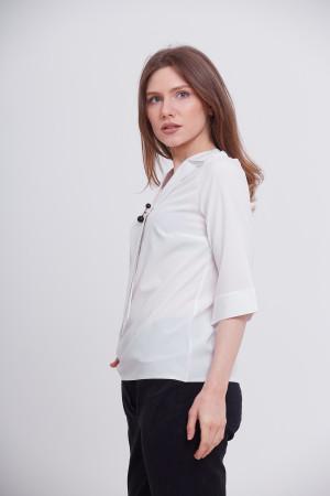 Блуза «Лідія» білого кольору