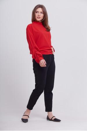 Блуза «Теата» красного цвета