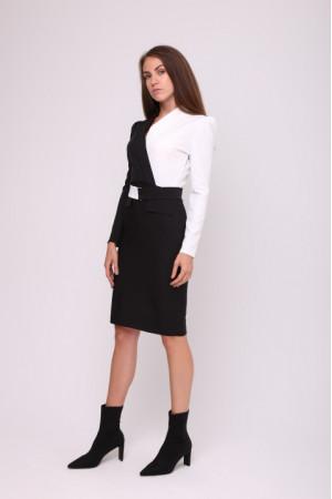 Сукня  «Далма» чорно-білого кольору