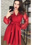 Сукня «Еріка» червоного кольору