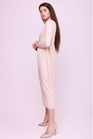Платье «Винтей» бежевого цвета