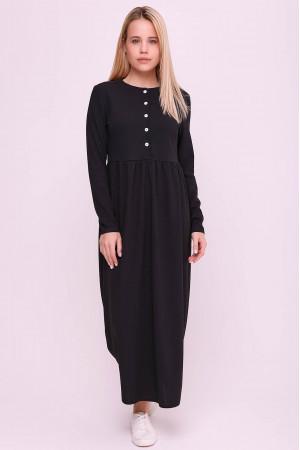 Платье «Винтей» черного цвета
