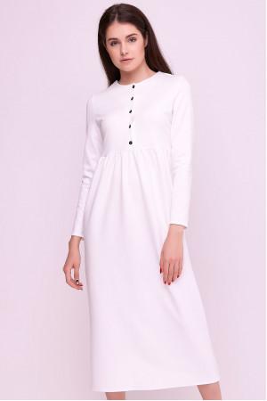 Платье «Винтей» белого цвета