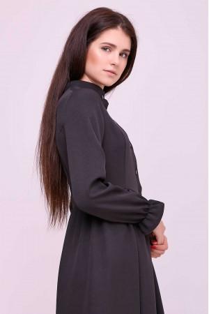 Платье «Брайди» черного цвета